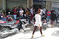 More than 20 garment workers in...