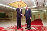 Samdech Techo Hun Sen Meets WHO...