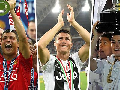 Ronaldo ក្លាយជាកីឡាករទី១ដែលឈ្នះ...