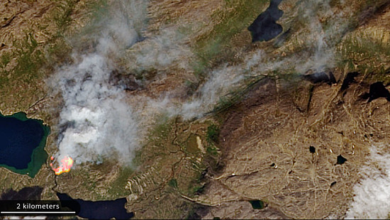 Greenland Was on Fire This Week Amid ...