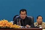 PM Hun Sen Presides Over a Meeting of...
