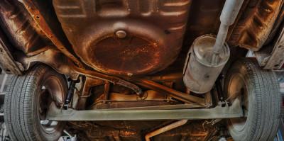 Undervogn bil rustbeskyttelse