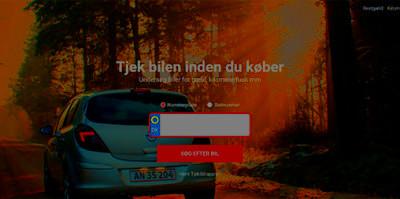 Tjekbil restgaeld kilometertal omregistrering synsrappoterbil