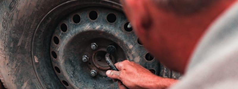 Sie können sich nie sicher sein, was bei gebrauchten Reifen geschädigt ist