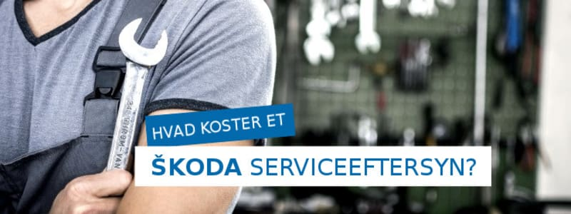 Skoda serviceeftersyn pris