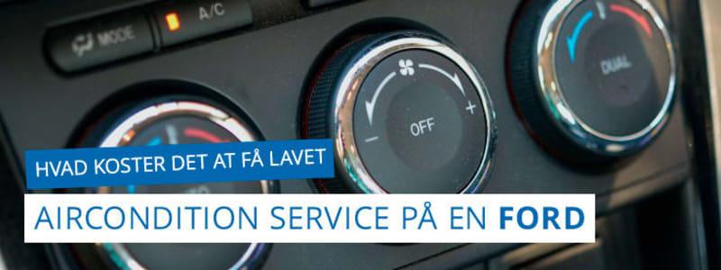 Service af airconditionanlæg og klimaanlæg - Ford