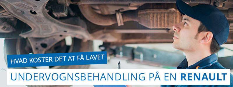 Undervognsbehandling og rustbeskyttelse til Renault