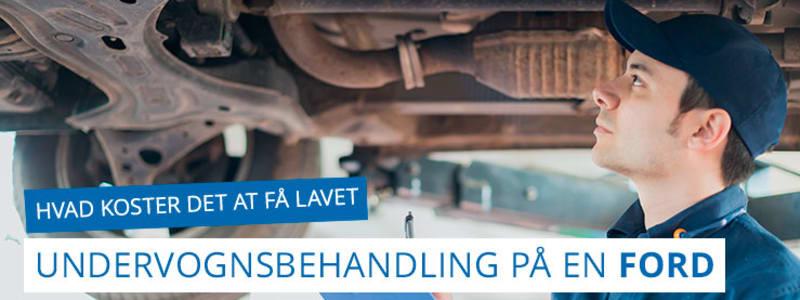 Ford - hvad koster undervognsbehandling og rustbeskyttelse af en Ford