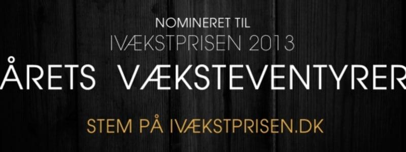 Autobutler nomineret til Ivækstprisen 2013