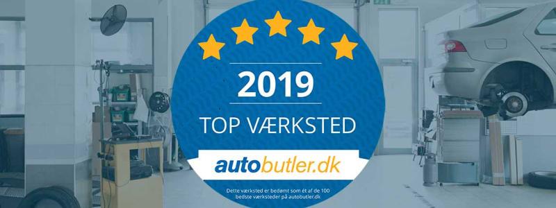 Danmarks bedste værksted 2019