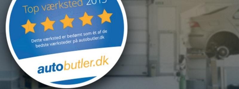 Autobutler kårer Danmarks bedste værksteder