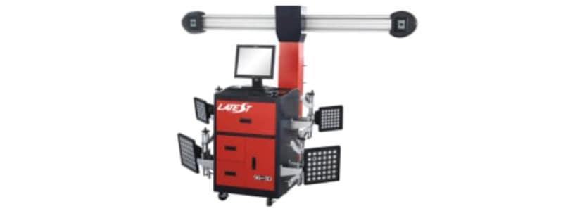 Apparat der laver 4-hjulsudmåling