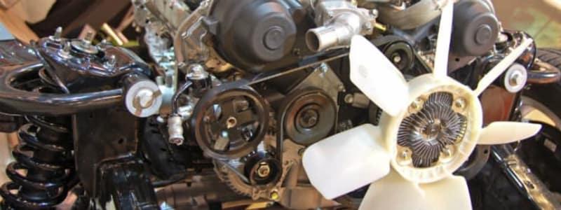 Bilens ventilator - remmen