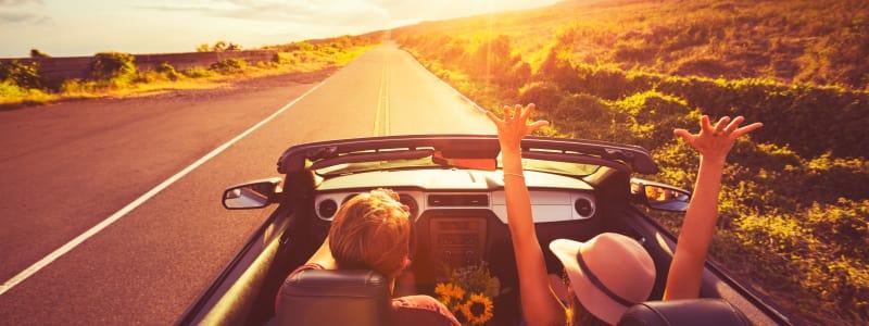 Kør sikkert af sted i bilen på sommerferie