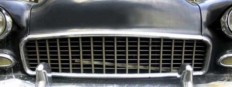bilens radiator/køler
