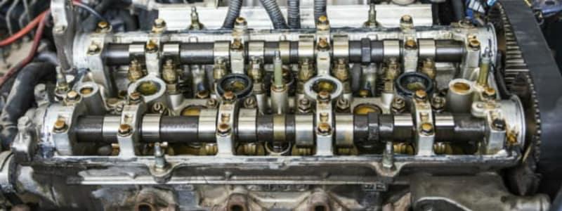 Bilmotor med stempler