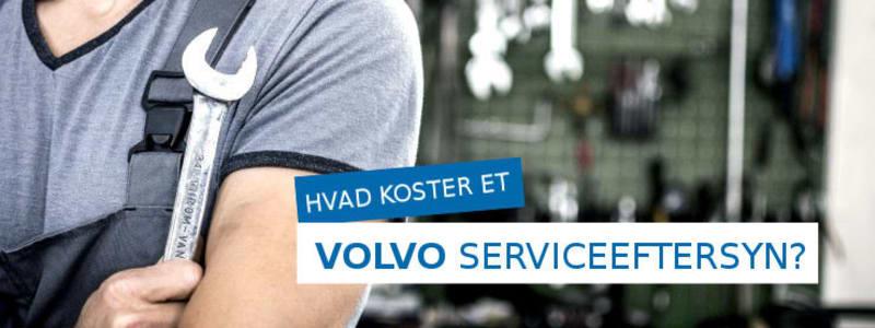 Få tilbud på service til din Volvo
