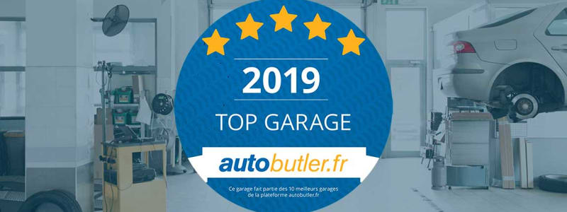 Sticker Top Garage autobutler.fr