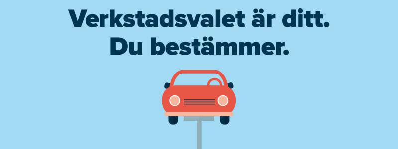 Autobutler stöttar branschens initiativ om det fria verkstadsvalet