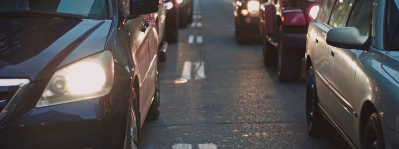 Bilar i trafik
