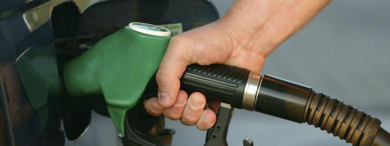 Tankning med bensin
