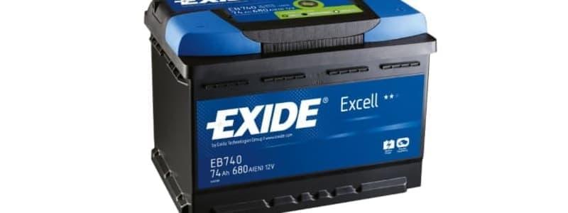Bilbatteri från Exide