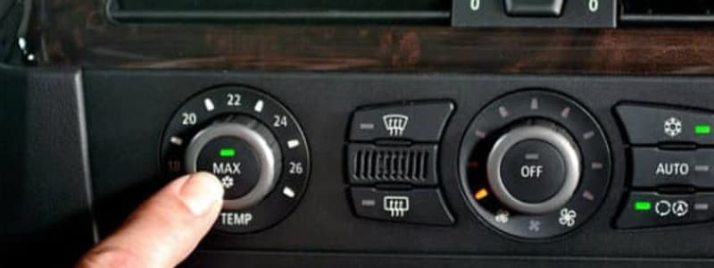 Clean your car's air conditioning or climate system