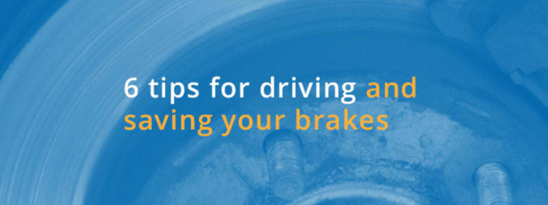 Here is how you minimise tear on car brakes