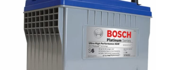 Learn more about Bosch car batteries
