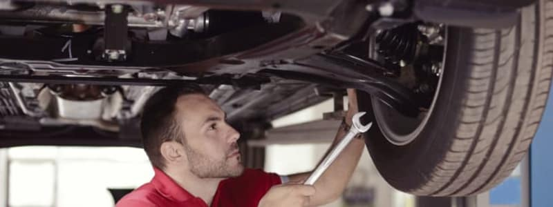 Learn how suspension and shock absorbers on the car is replaced