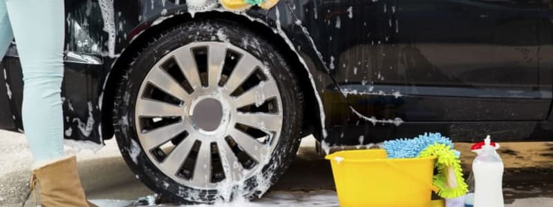 Here is how you wash your car