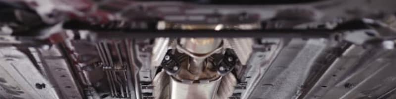 Dieselpartikelfilter und Auspuff