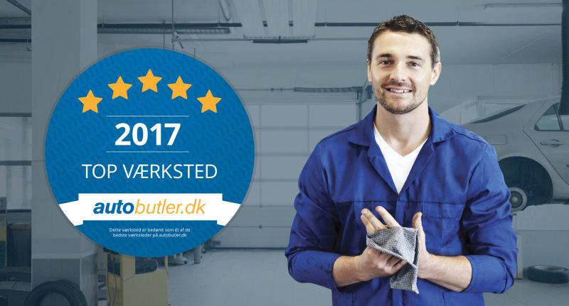 Danmarks bedste værksteder 2017 - Se brugernes bedømmelse