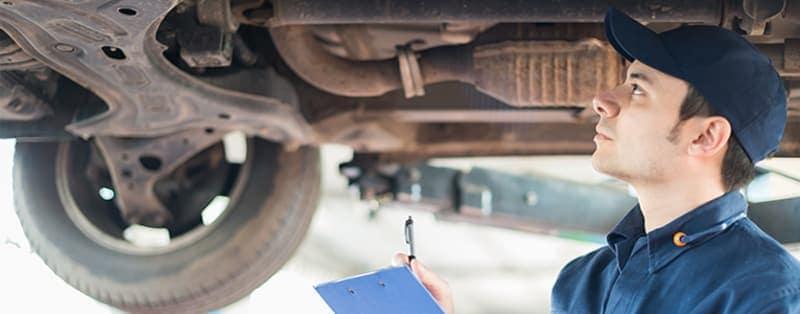 Få undervognsbehandlet din Mercedes i tide
