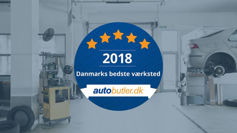 Danmarks bedste værksted 2018