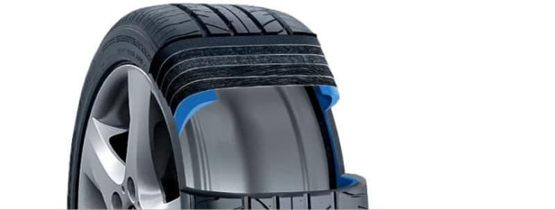 Run Flat dæk nærbillede