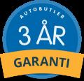 3 års garanti på din bilreparation