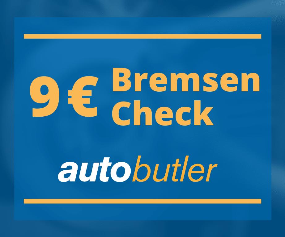 Banner zum Bremsen-Check