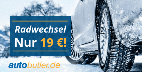 Festpreis: Winterradwechsel 19 €
