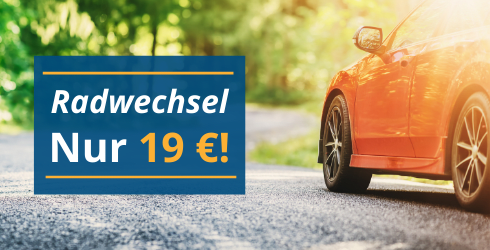 Festpreis: Radwechsel 19 €