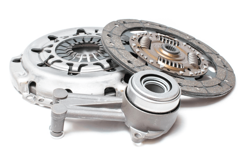 Drei Teile des Kupplungsnehmerzylinder