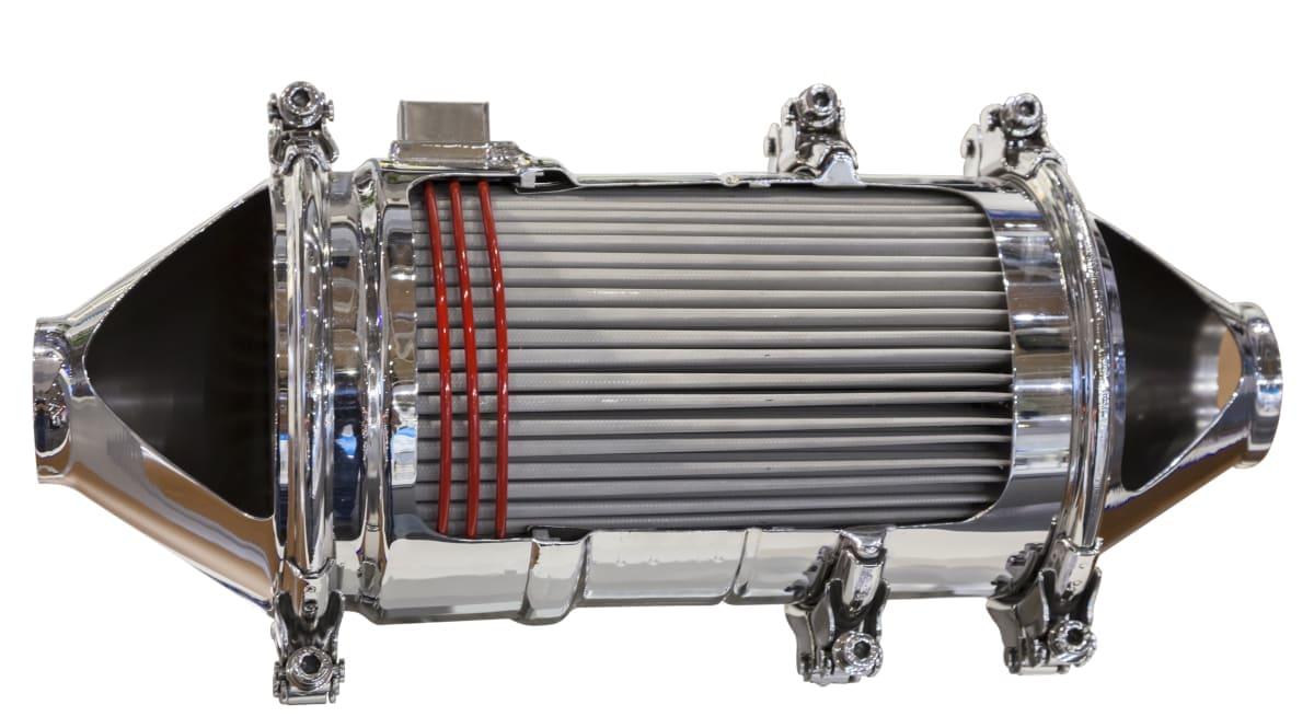 Reparation af diesel partikelfilter