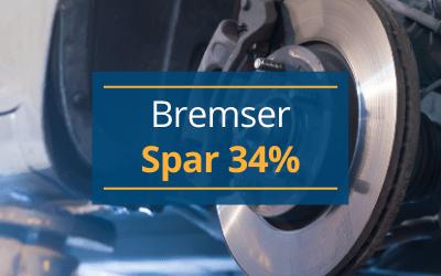 udskiftning af bremser smart