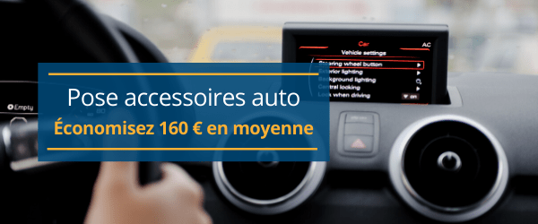 Installation accessoires auto