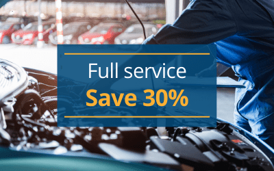 Mazda full service