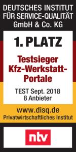 Testsieger KFZ Werkstatt