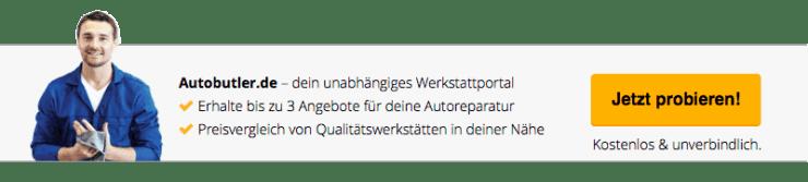 Autobutler.de Werkstattportal - Erhalte 3 Angebote zur Autoreparatur oder Inspektion