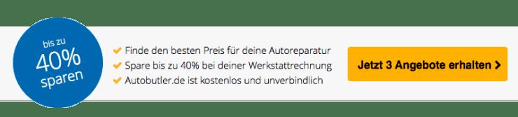 Autobutler.de Werkstattportal - Sparen bis zu 40% bei diener Werkstattrechnung