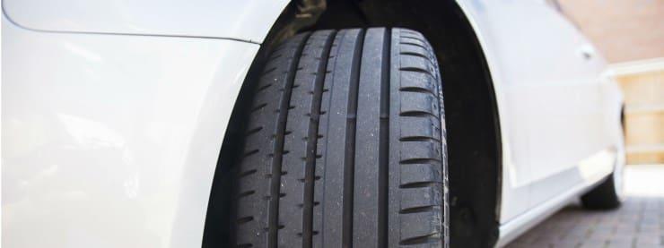 Nye dæk og dækskifte