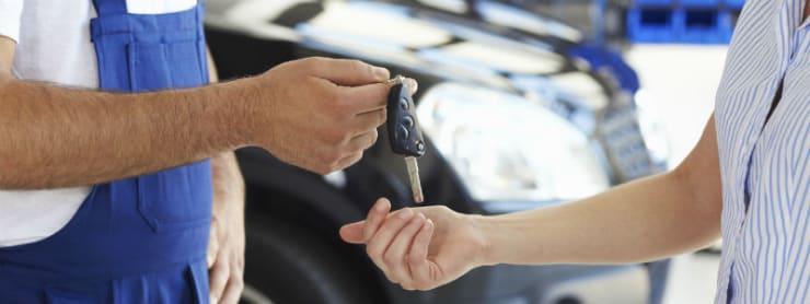 Was geschieht wenn ich mein Auto zur Inspektion bringe?